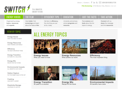 switch energy project