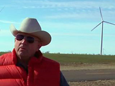 Cliff Etheredge, Wind Farmer : Wind and New Transmission Lines